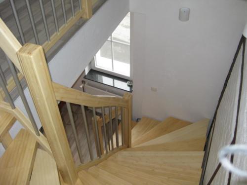 Treppe aus Bambus